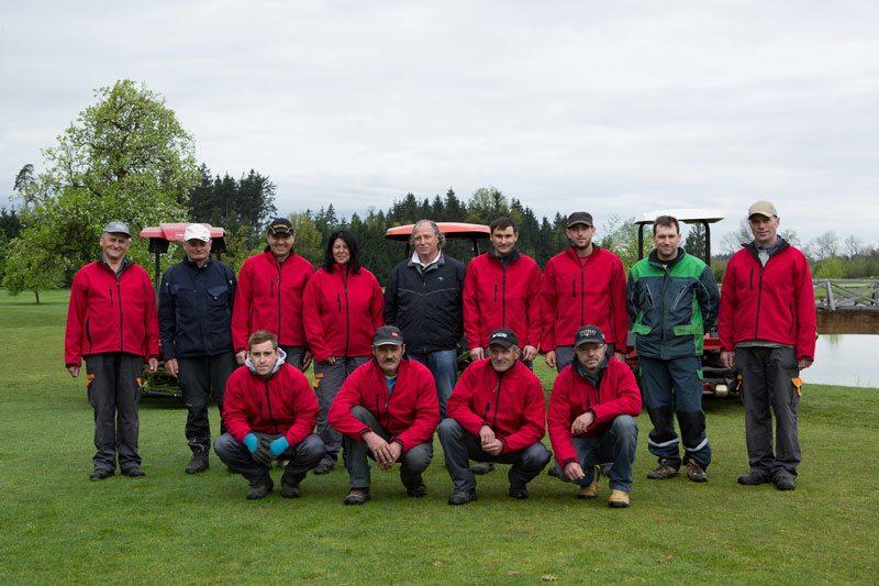 Greenkeeper Team Golf Resort Kremstal