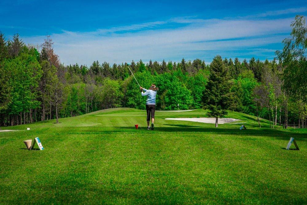 Golf Oberösterreich Kremstal Kurs A Loch 2