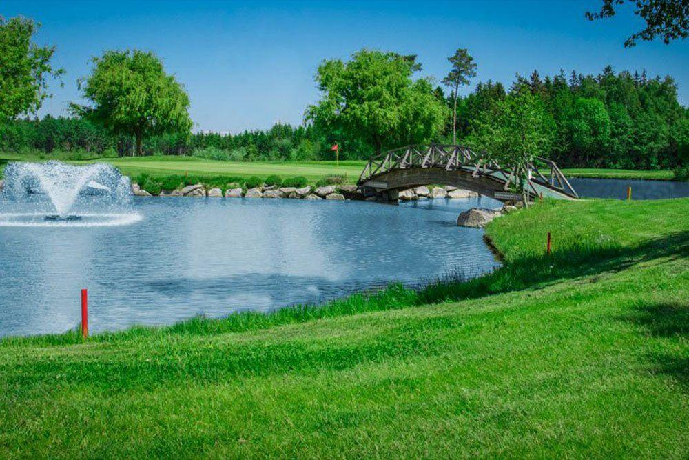 Golf Oberösterreich Kremstal Kurs B Loch 12