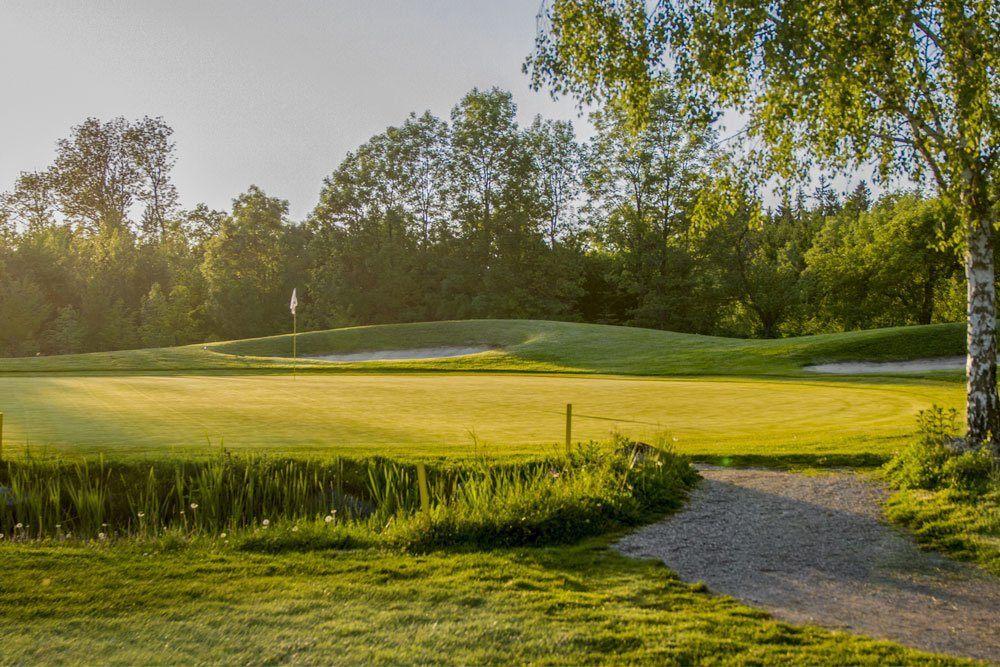 Golf Oberösterreich Kremstal Kurs B Loch 14