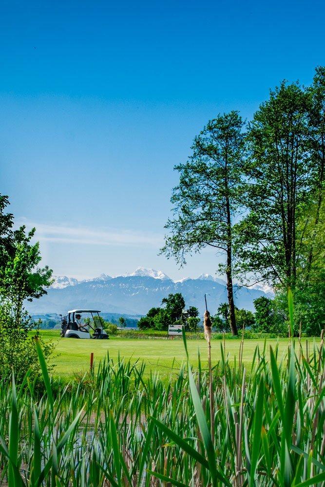 Golf Oberösterreich Kremstal Kurs B Loch 17