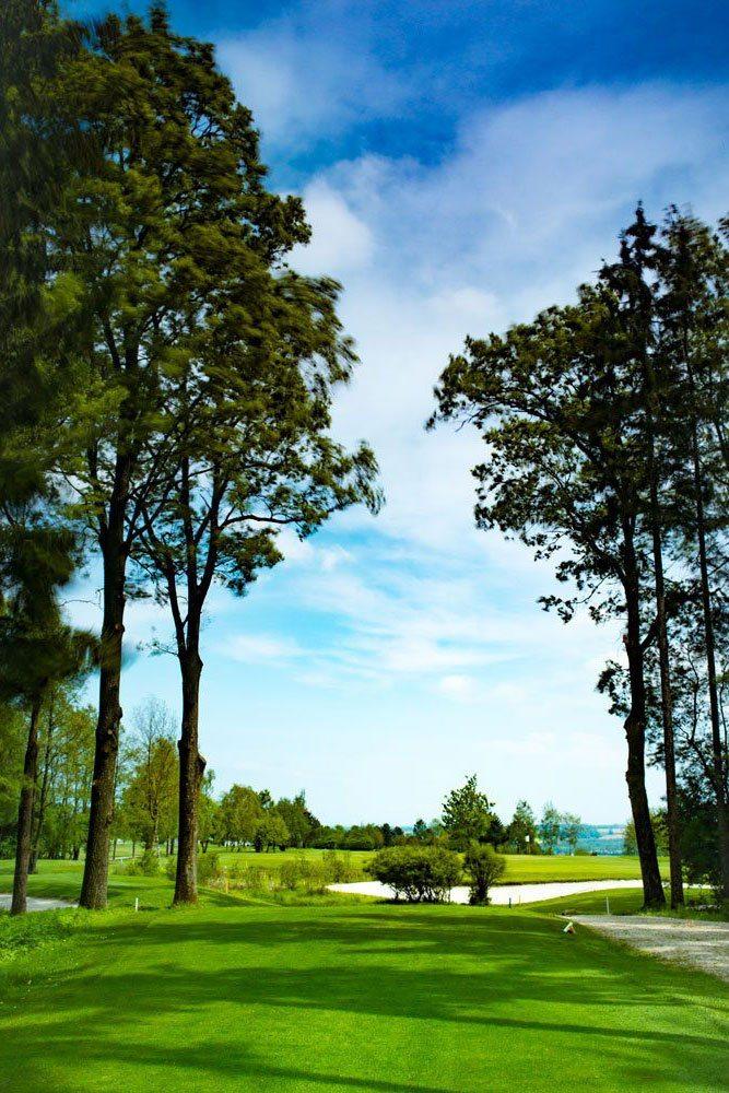 Golf Oberösterreich Kremstal Kurs B Loch 18