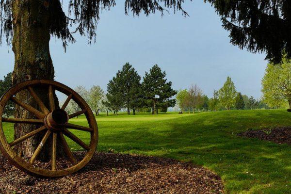 Golf Oberösterreich Kremstal Kurs C Loch 18