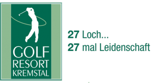 logo golf resort kremstal 27 loch leidenschaft