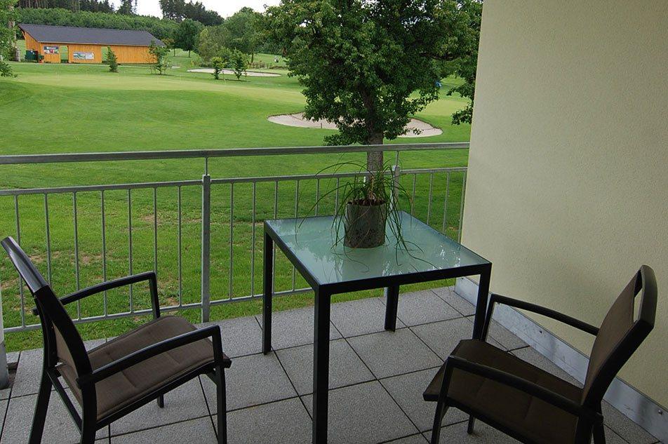 OG's Golfurlaub Appartement Aussicht