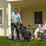 OG's Golfurlaub Appartement Terasse