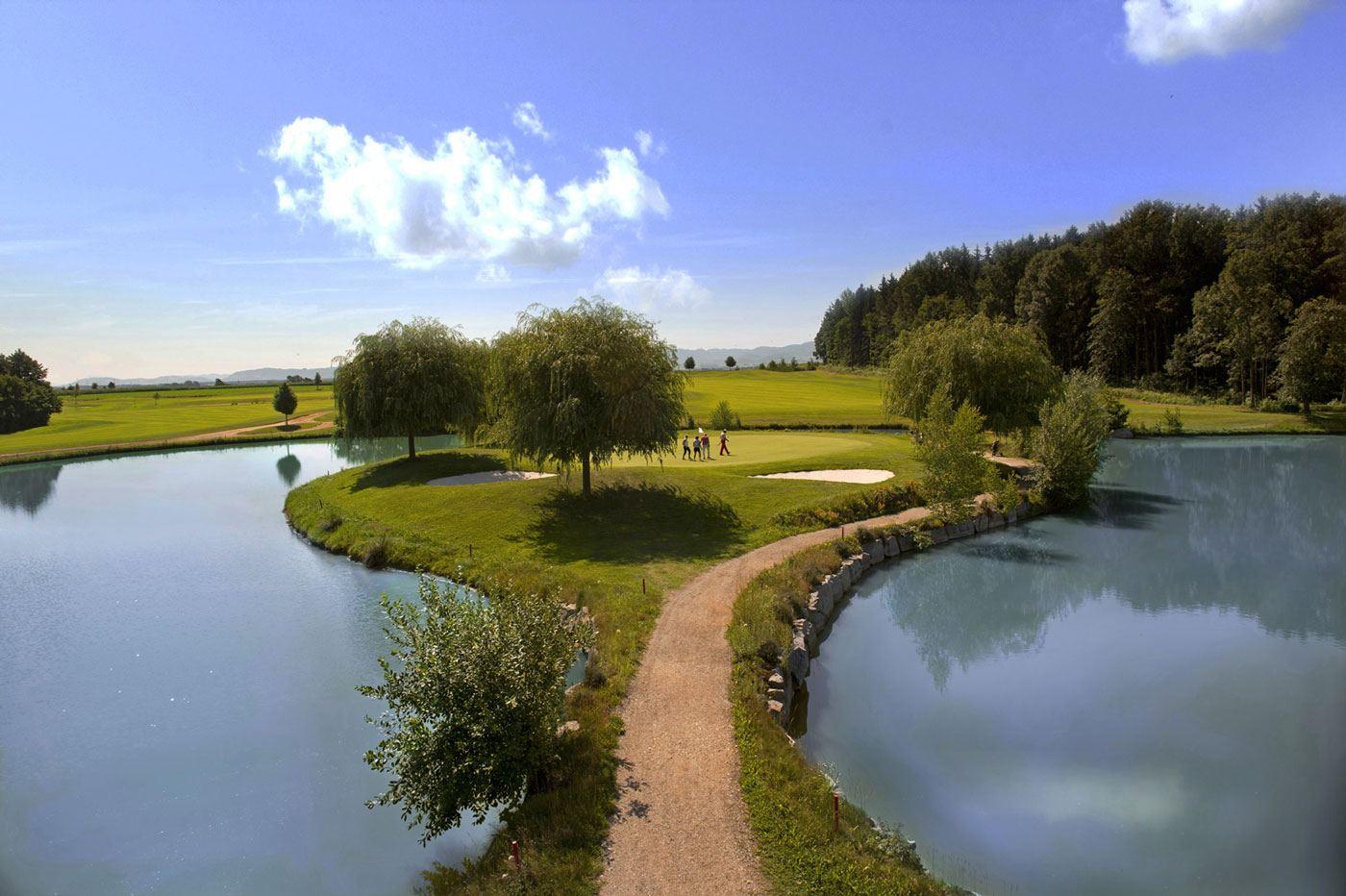 Golf Resort Kremstal Inselgrün Loch12