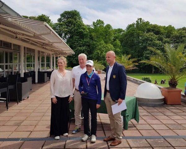 Sieg Katharina Zeilinger Austrian Juniors Golf Tour Ebreichsdorf