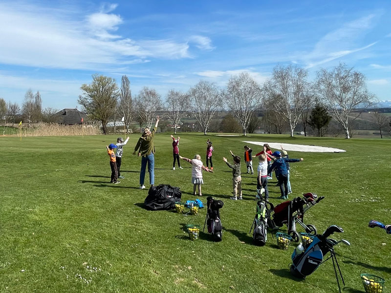 Kindertraining Golf Resort Kremstal