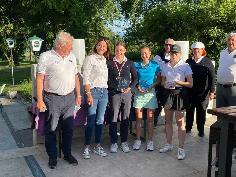 Siegerinnen Austrian Juniors Golf Resort Kremstal