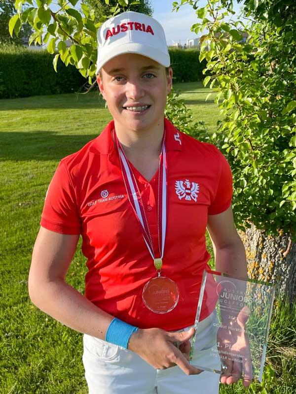 Katharina Zeilinger GC Kremstal Sieg Austrian Juniors Tour 2021