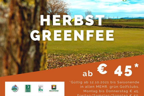 Herbstgreenfee GC Kremstal